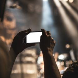 grabar conciertos con el móvil