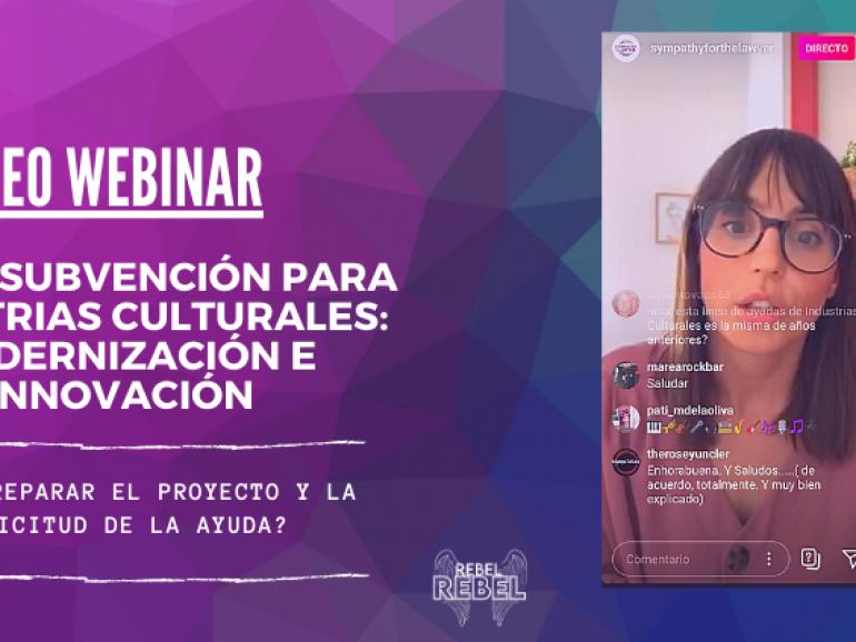 ¿Cómo preparar el proyecto y la solicitud para las ayudas para la modernización e innovación de las industrias culturales?