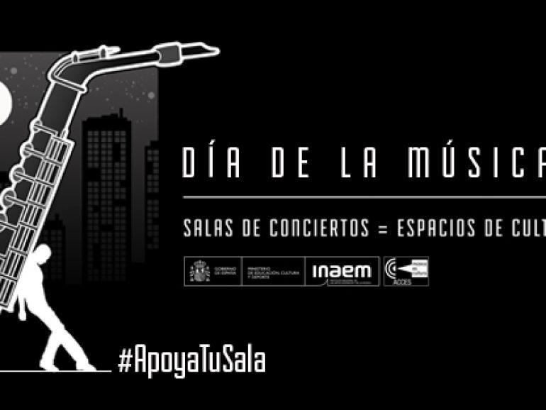 La Asociación Estatal de Salas de Conciertos celebrará el Día de la Música con una programación de conciertos en Live Streaming