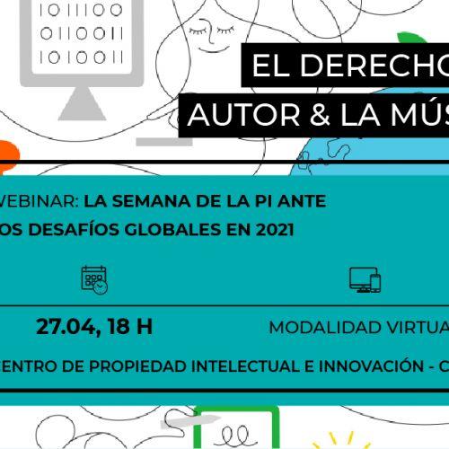 SYLW en la Semana de la Propiedad Intelectual de la Universidad de San Andrés y WIPO