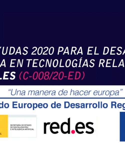 Convocatoria de ayudas para el desarrollo de la oferta tecnológica en contenidos digitales 2020