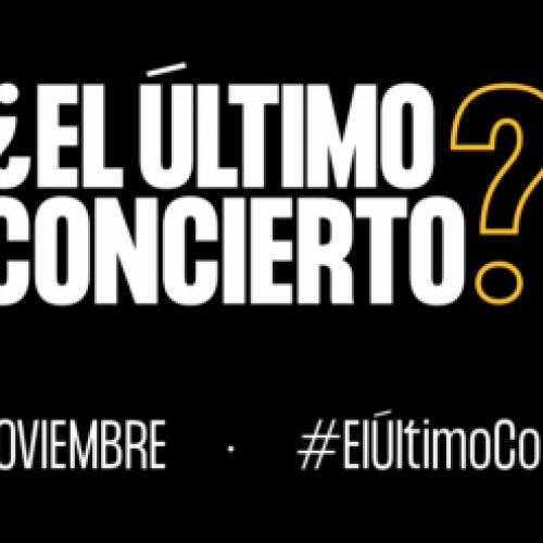 Salas de conciertos se unen en lo que podría ser su ¿Último concierto?