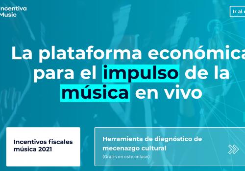 Herramienta diagnóstico para calcular incentivos fiscales en espectáculos culturales