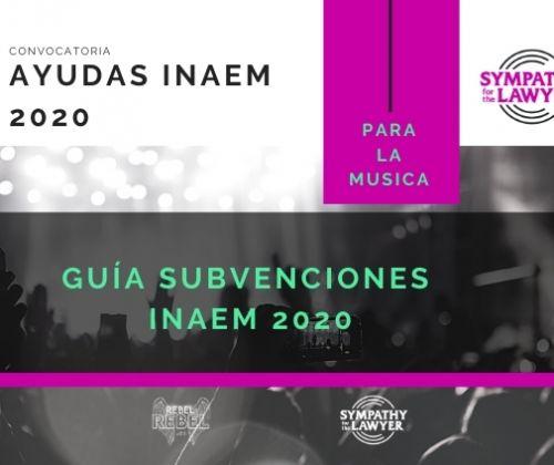 ¿Cómo solicitar las ayudas para la música de INAEM 2020?