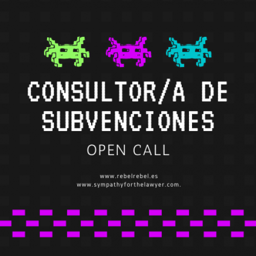 Open Call: Buscamos consultor/a de subvenciones y proyectos vinculados al sector musical