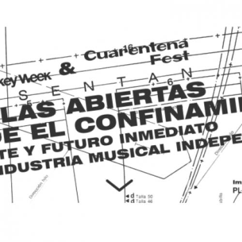 Esta semana comienzan las Charlas Abiertas desde el Confinamiento, jornadas online sobre la industria musical